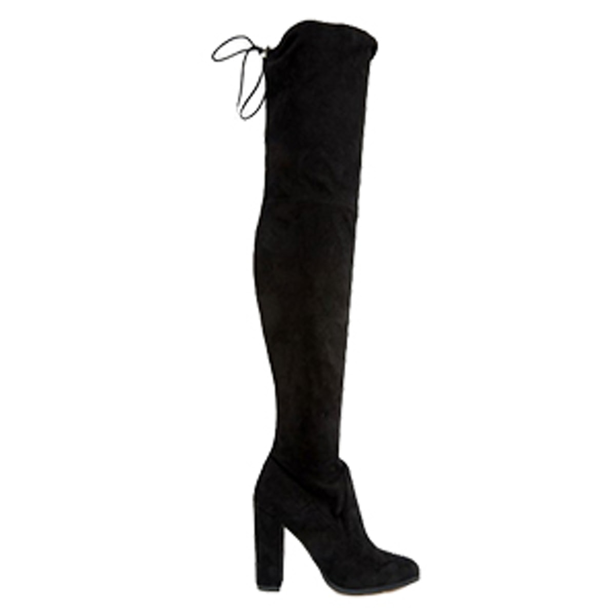 Kingdom Stretch Over The Knee Heeled Boots