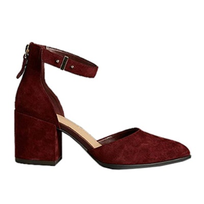Block Heel Court Shoes with Insolia®