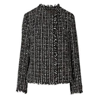 Linton Tweed Boxy Jacket with Wool