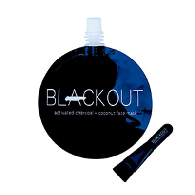 Blackout Activated Charcoal and Coconut Oil Mask