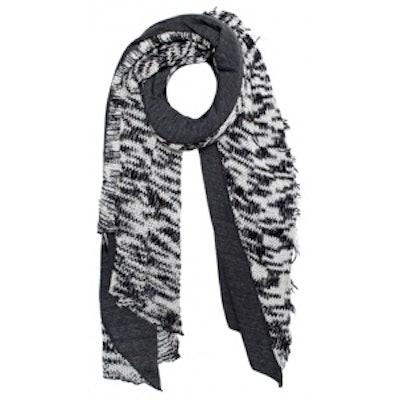 Knit Diagonal Scarf