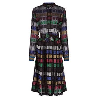 Multi Lurex Soraya Shirt Dress