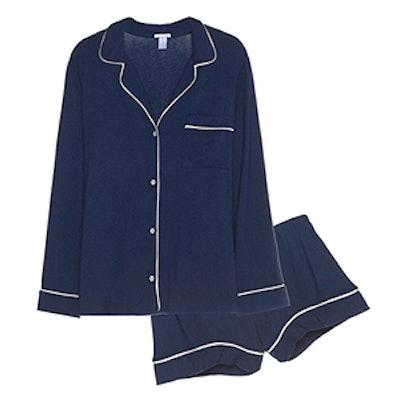 Gisele Long Sleeve & Short PJ Set