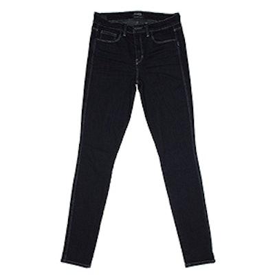 Iconic High Rise Indigo Rinse Jean