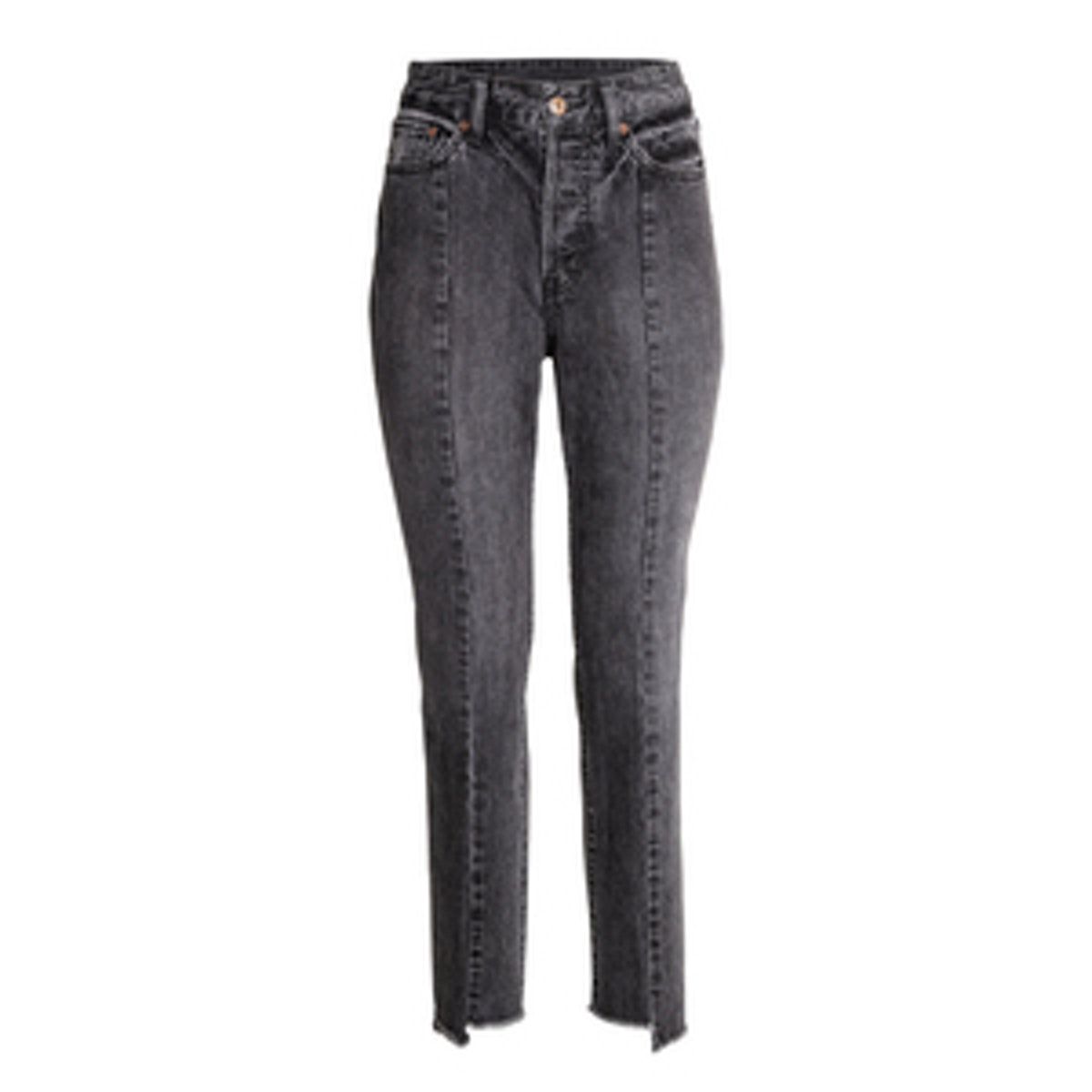 Straight Cropped High Jeans