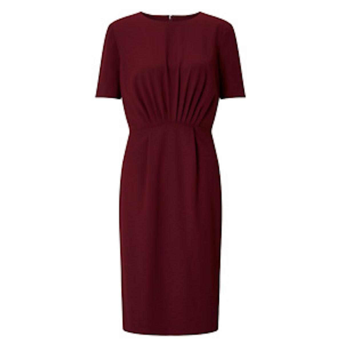 Audrey Front Pleat Dress