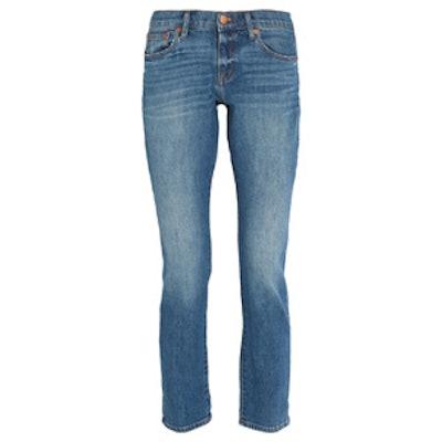 Boyjean Mid-Rise Slim-Leg Jeans