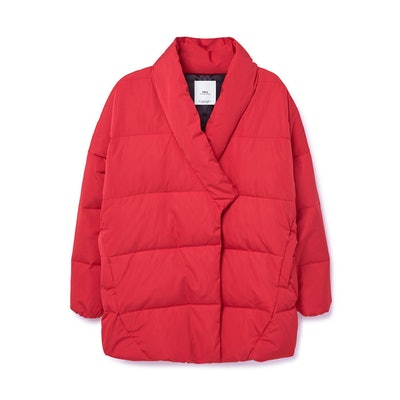 Quilted Feather Coat