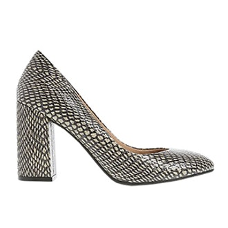Flared Heel Court Shoes with Insolia®