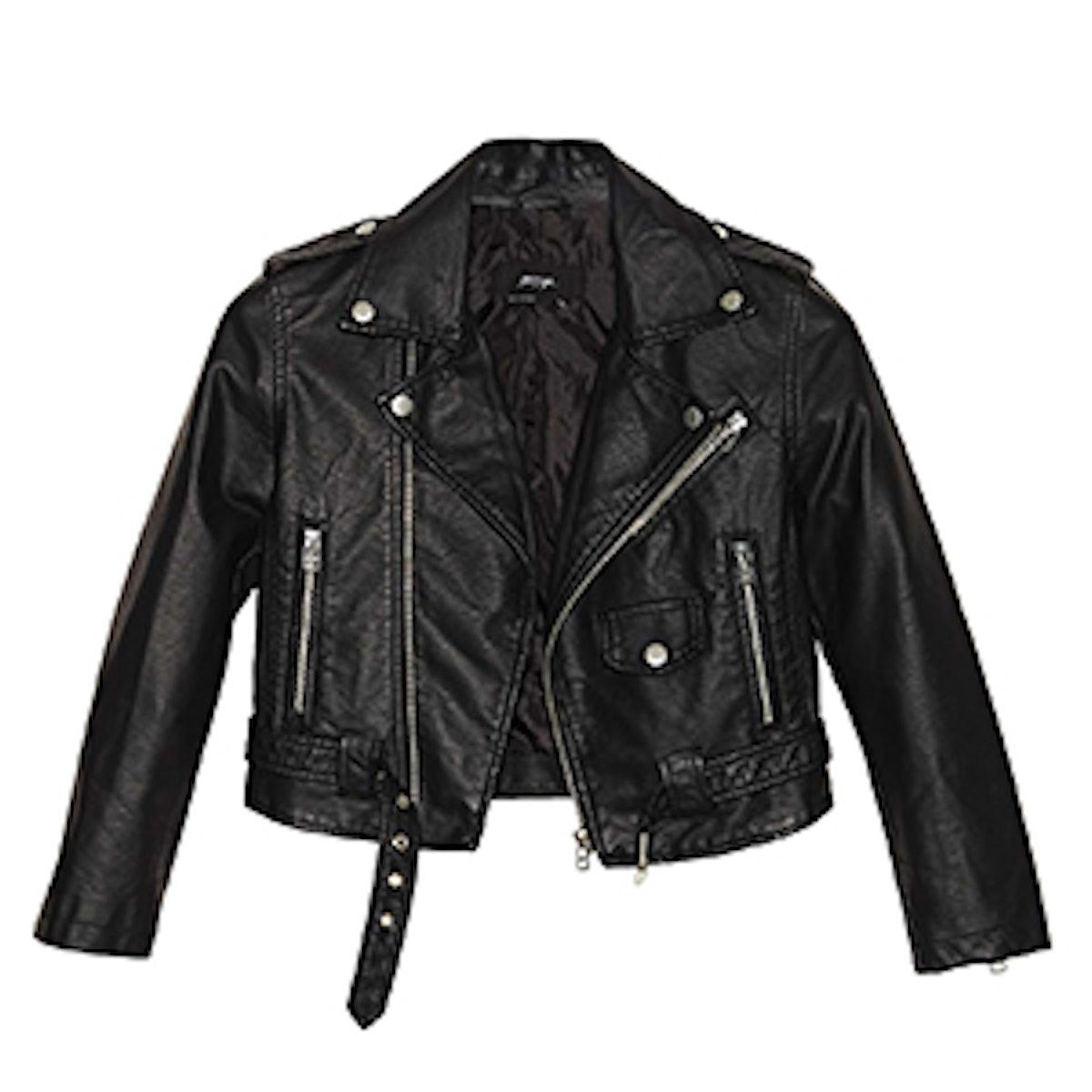 Moto Zip Crop Jacket