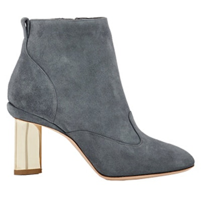 Prism-Heel Ankle Boots