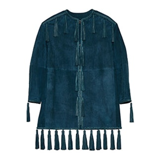 Holden Tasseled Leather Coat
