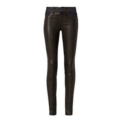 Essex Leather Hyde Denim Skinny