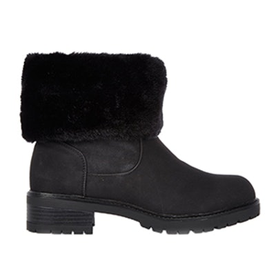 Fur Lined Chunky Boots