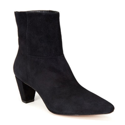 Ginz Point-Toe Suede Boots