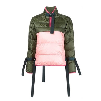 Puffer Pullover Jacket