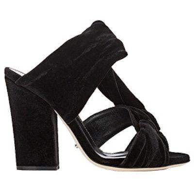 Moulage Velvet Sandals