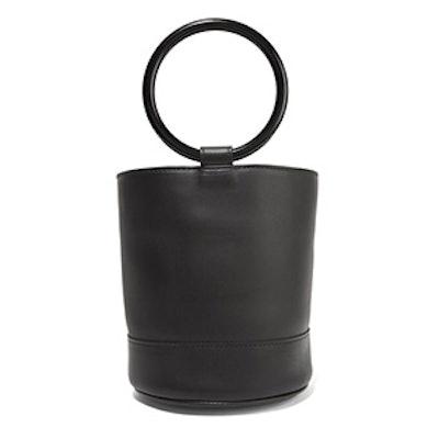 Bonsai Leather Bucket Bag
