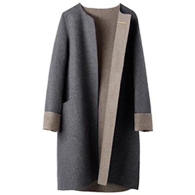 Soft Wool Cashmere Coat