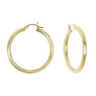 Round Hoop Earings