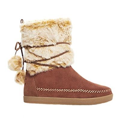 Nepal Faux Fur Boots