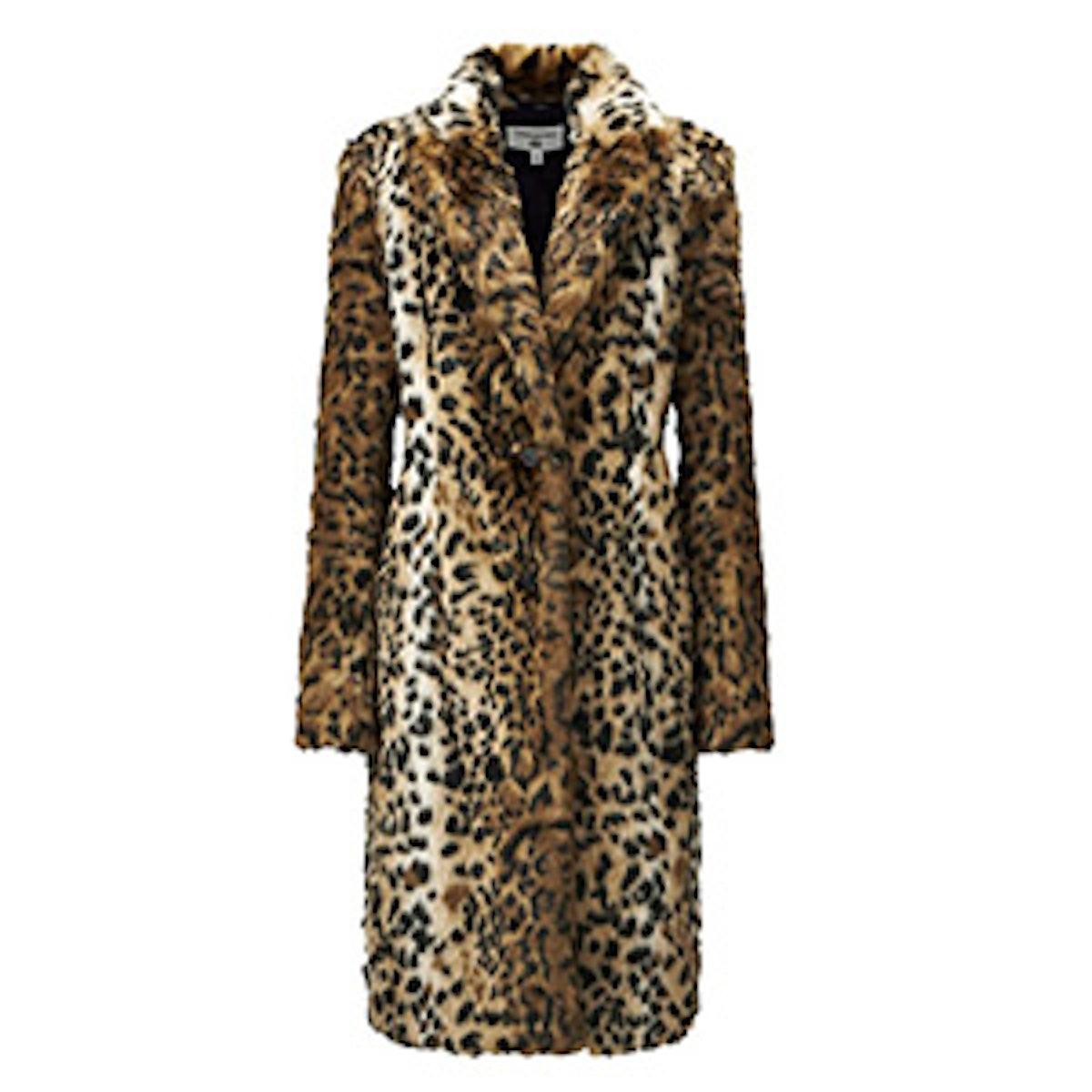 Women Carine Faux Fur Coat