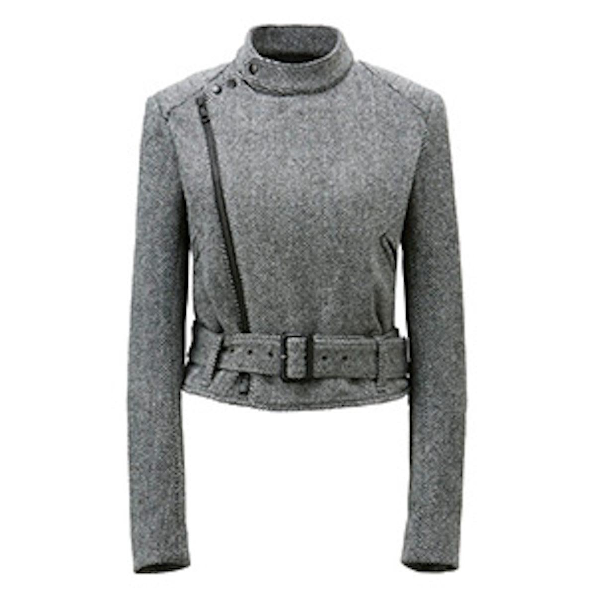 Women Carine Tweed Blouson