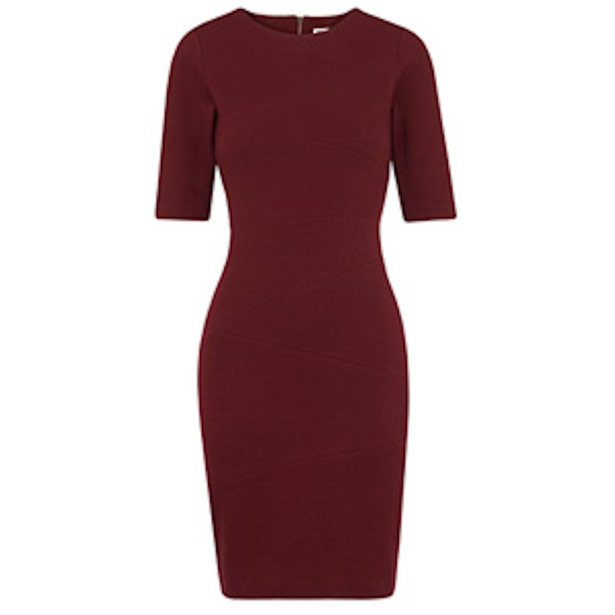 Kerry Ribbed Jersey Dress