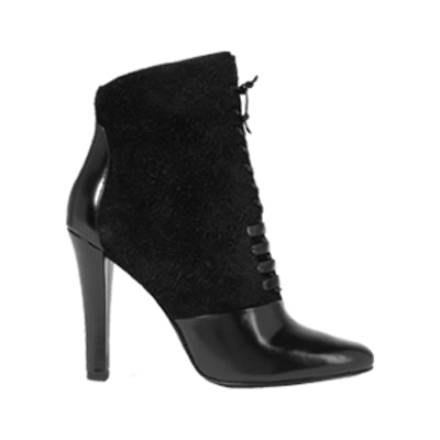 Harleth Leather And Lace Ankle Boots