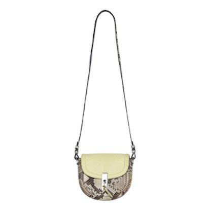 Ghianda Mini Python Saddle Bag