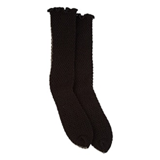 Fishnet Mid-Calf Socks