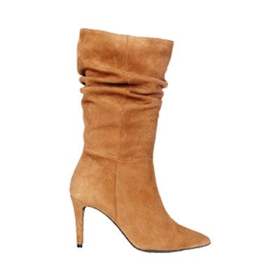 Athalia Camel Suede Boot