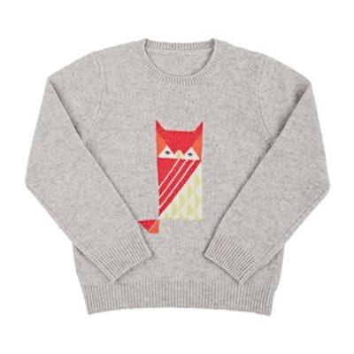 Owl Cashmere Sweater
