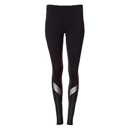 EXP Core Mesh And Shine Stripe Compression Legging