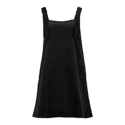 Julie Jumbo Rib D-Ring Pinafore Dress