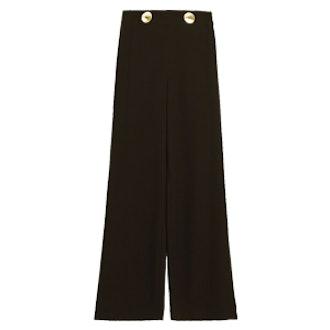 Button Waist Trousers