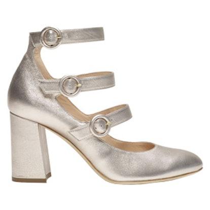 Yuulia Three-Strapped Heel