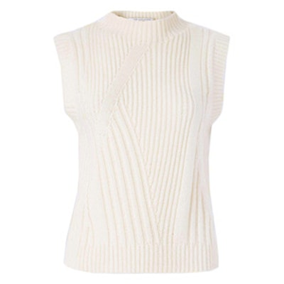 Ediva Wool & Cashmere Mock Neck Sweater