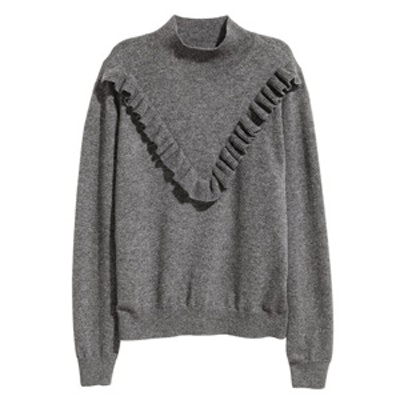 Fine-Knit Cashmere Sweater