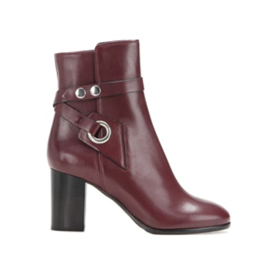 Ashes Leather Ankle Boots