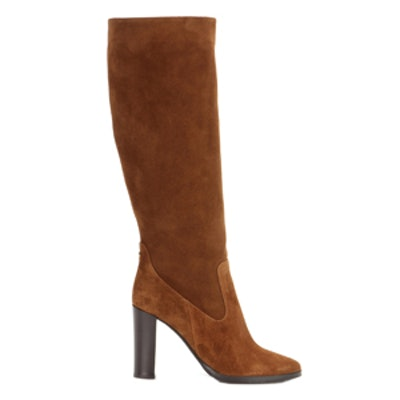 Honor 95 Suede Knee-High Boots
