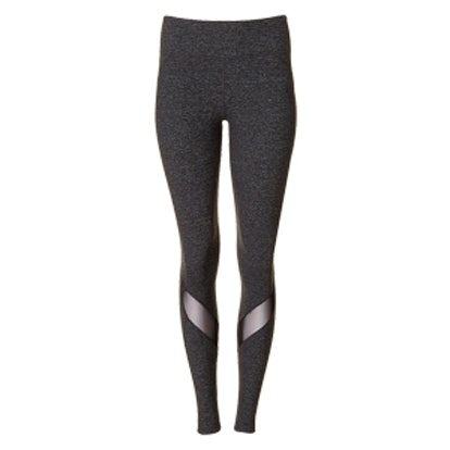 Marled Mesh Inset EXP Core Legging