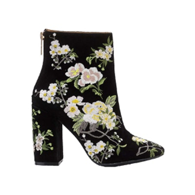 Floral Embroidered Boot