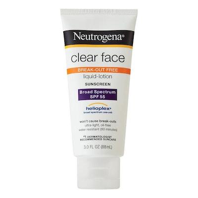 Liquid-Lotion Sunscreen