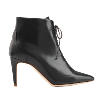 Henty Leather Ankle Boots