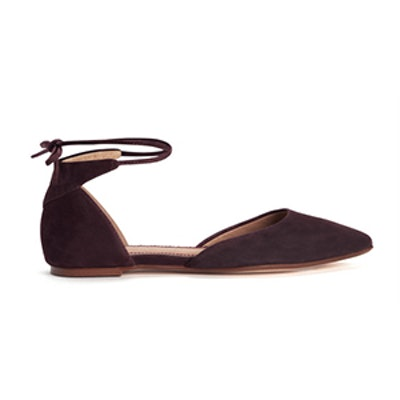 Annabelle Suede Flat