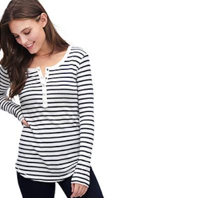 Striped Henley