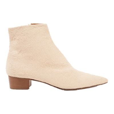 Ambra Calf Hair Ankle Boots