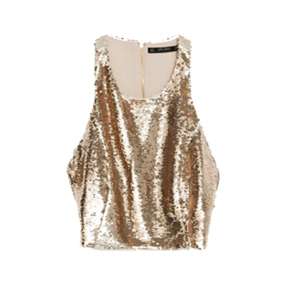Top With Sequins