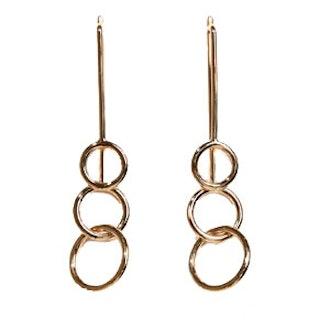 Studio Double Ring Earrings